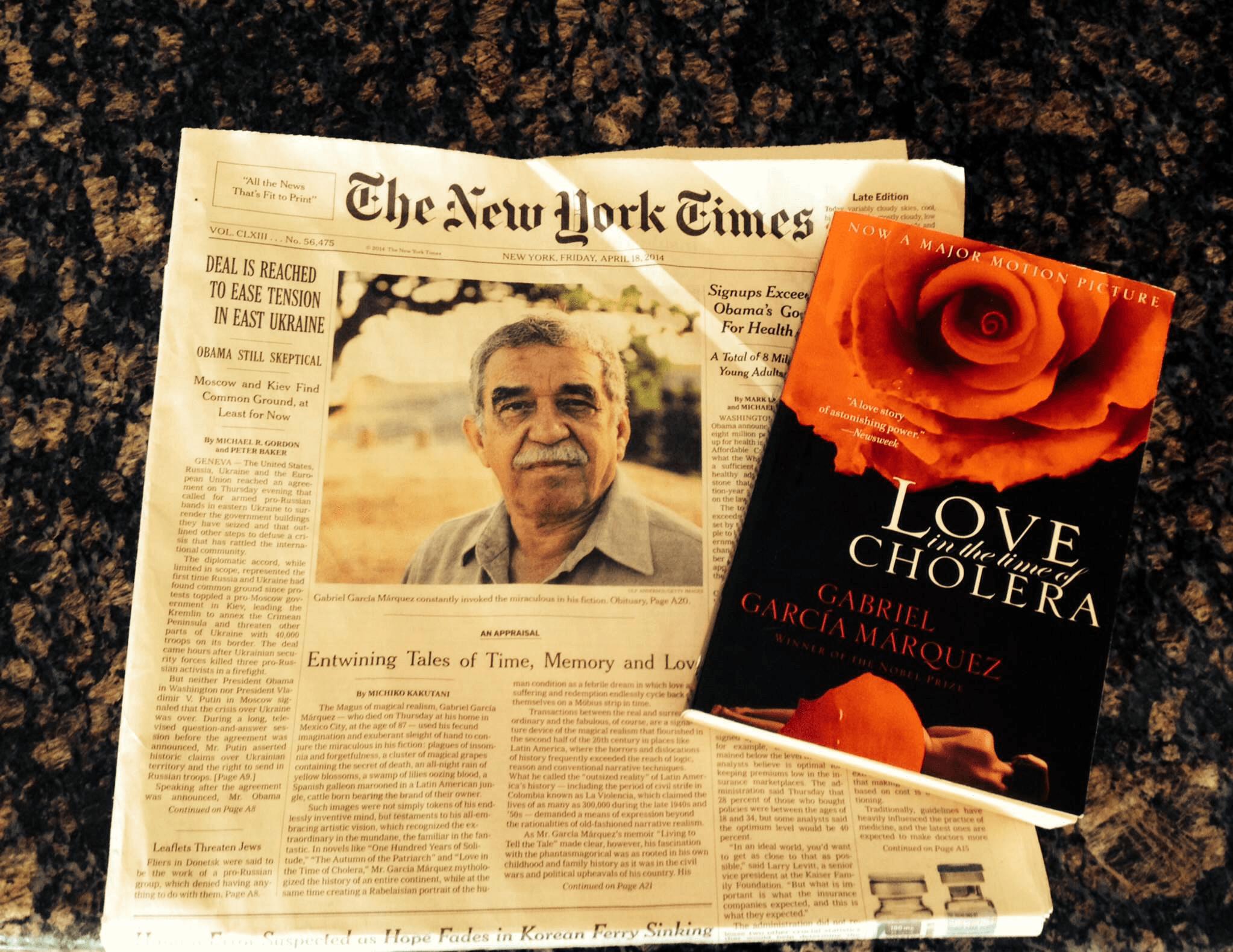 Top Tuesday's: 10 Most Inspiring Gabriel García Márquez Quotes
