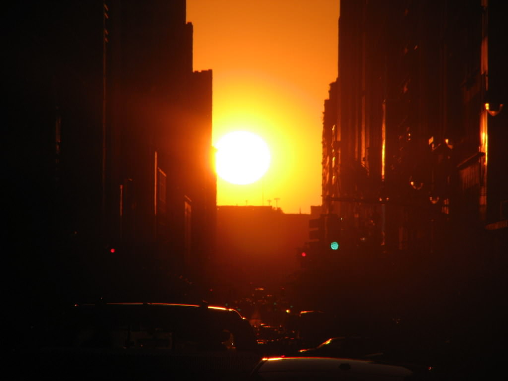 Manhattanhenge: New York's Right of Spring