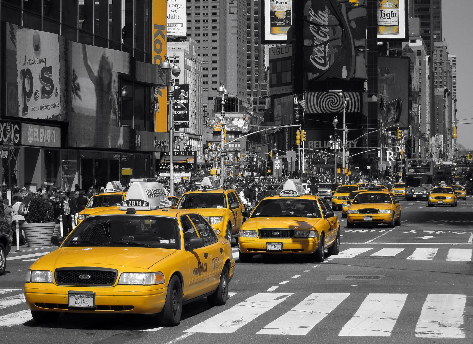 Slashed Uber Fares Threaten NYC's Taxis