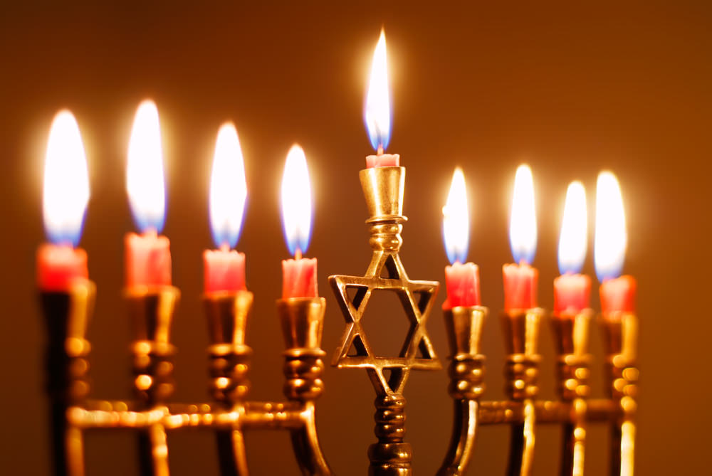The Lighting of the World's Largest Menorah on December 16-23