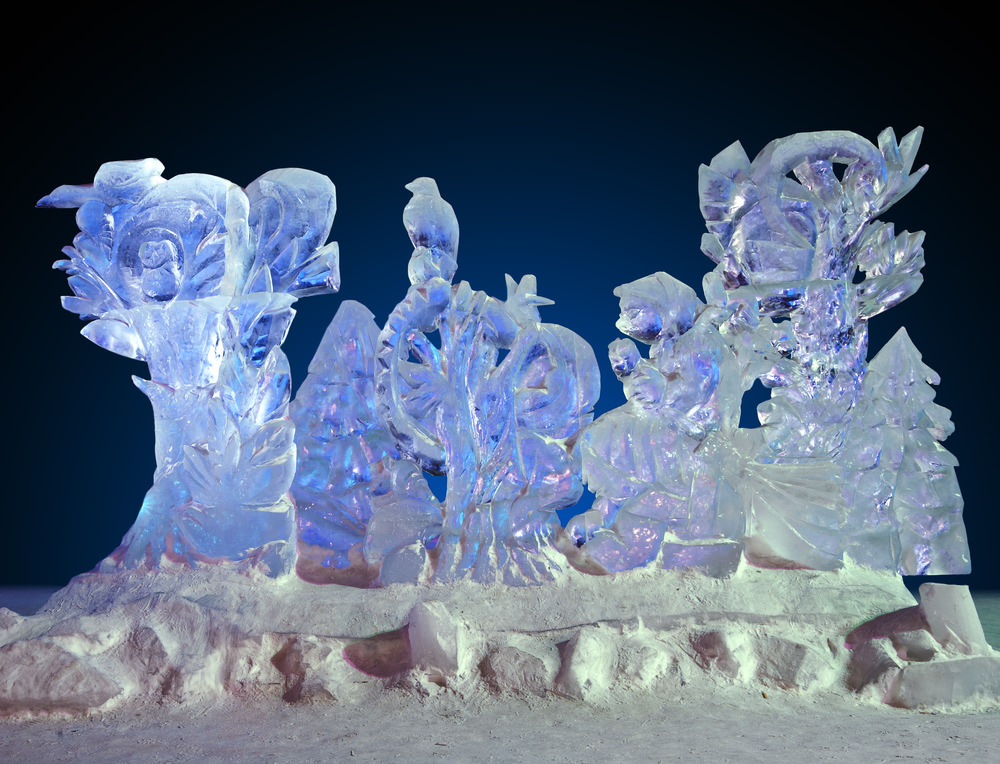 4th Annual Ice Festival at Central Park on February 14